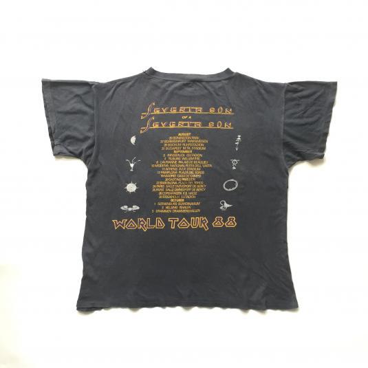 1988 Iron Maiden 'Seventh Son of a Seventh Son' T-Shirt