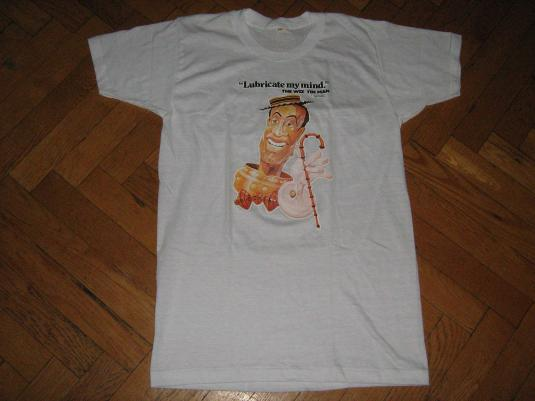 """THE WIZ TIN MAN"" 1978 Tshirt MINT VELVA SHEEN Wizard of OZ"