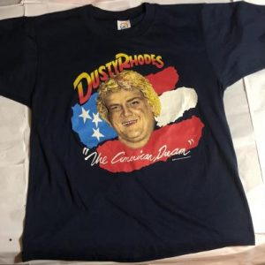 "Vintage 1986 Dusty Rhodes ""The American Dream"" T-Shirt!"