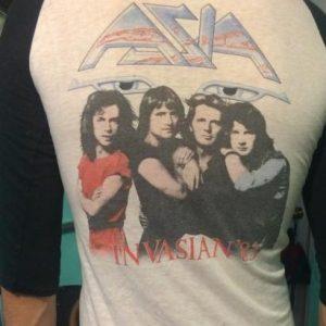 1983 Asia INVASION tour shirt