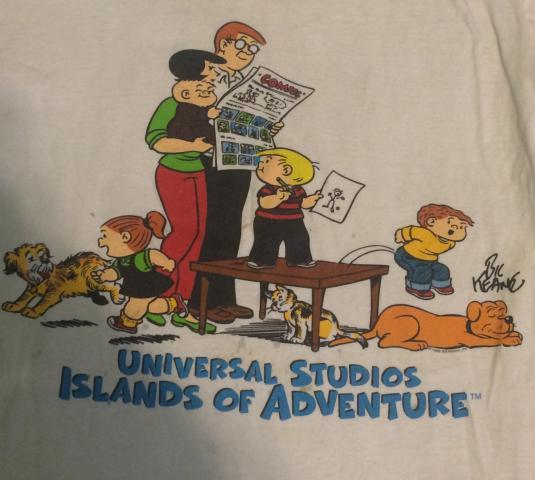 1998 family circus tshirt