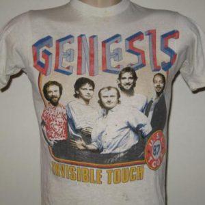 Vintage 1987 Genesis Invisible Touch Concert T-Shirt XXS