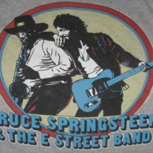 Vintage 1980 Bruce Springsteen & The E Street Band T-Shirt