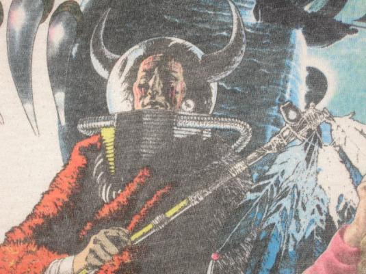 Vintage 70s/80s Kansas Rock Concert Tour Raglan T-Shirt