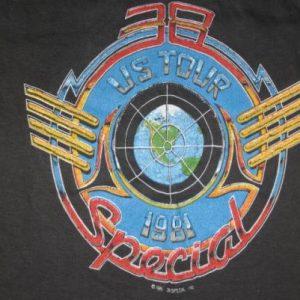 Vintage 1981 38 Special U.S. Tour Concert T-Shirt XXS