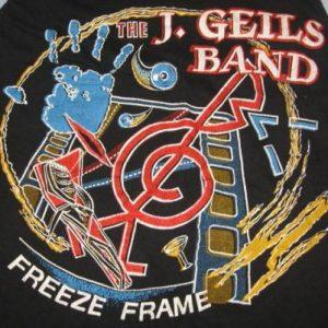 Vintage 80sJ. Geils Band Freeze Frame Concert T-Shirt XS