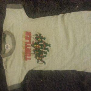 1980s Teenage muntant ninja turtle kids shirt S 6-8