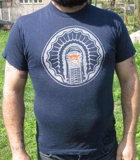Vintage '80s University of Illinois Fighting Illini T-shirt