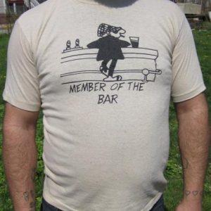 "Vintage ""Member of the Bar"" @ The Retreat Denver, CO T-shirt"