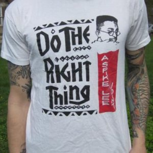 Vintage Spike Lee Do The Right Thing Movie Promo T-shirt