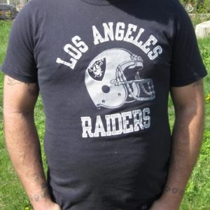 Vintage Champion Los Angeles Raiders Football T-shirt