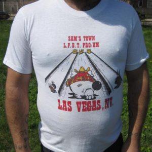Vintage 80s Bowling Tournament Shirt - Las Vegas, NV T-shirt