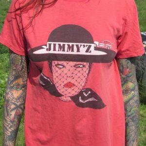 Vintage Jimmy'z Surf Fancy Lady T-shirt