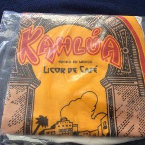Vintage 1970's Kahlua Licor De Cafe T Shirt NIP