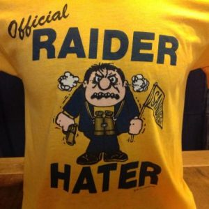 Vintage Official Raider Hater