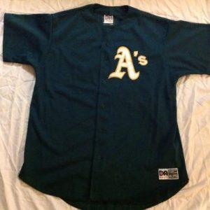 Vintage Oakland Athletics BaseBall Jersey #34