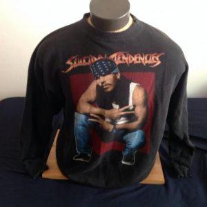 Vintage 1990's Suicidal Tendencies Sweat Shirt