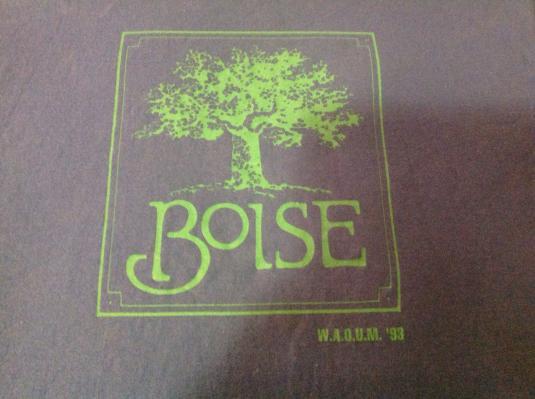 Vintage Boise W.A.O.U.M. '93