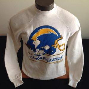 Vintage San Diego Chargers Snoopy Sweatshirt
