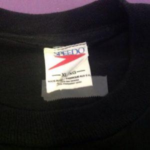Vintage Speedo No Pain No Spain T Shirt 1992 Olympics EUC