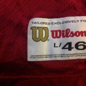 Vintage Steve Young San Francisco 49er's Jersey Wilson