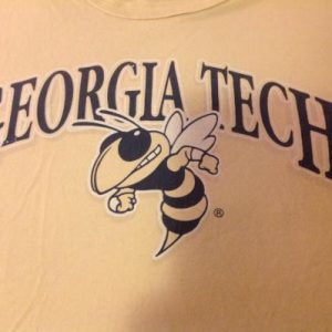 Vintage Russell Athletic Georgia Tech Yellowjacket T Shirt