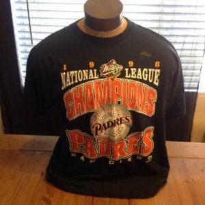 Vintage San Diego Padres 1998 World Series T-Shirt