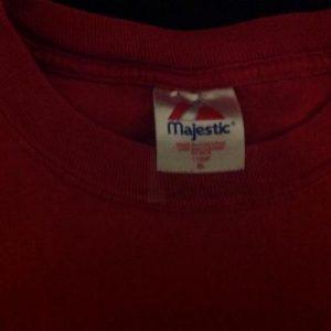 Vintage Majestic California Angels #16 T-Shirt