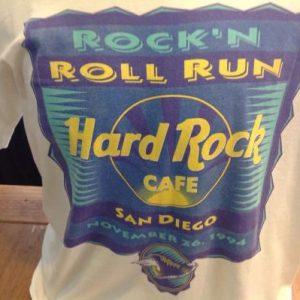 Vintage Hard Rock Cafe Rock' n Roll Run T-Shirt