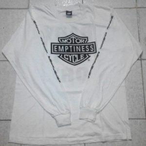 Manic Street Preachers Motor Emptiness Cycles Promo tee 1992