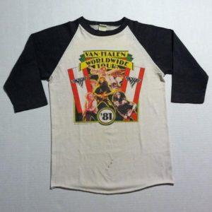 Van Halen Worldwide Tour 1981