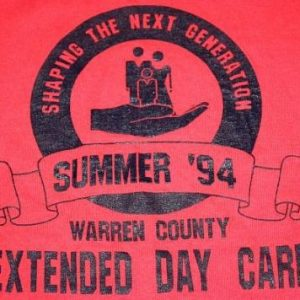 XL * Vintage 1994 WARREN COUNTY tennessee DAY CARE t-shirt