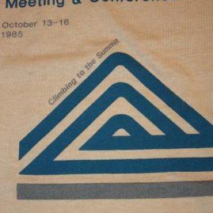 S * NOS Vintage 80s 1985 ATLANTA GEORGIA t-shirt *