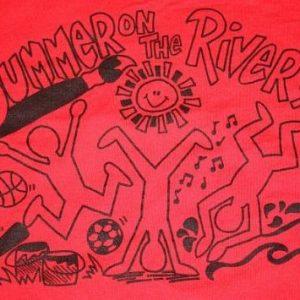 XL * vtg 1994 SUMMER ON THE RIVER shirt