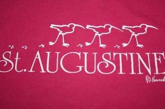 L / XL * Vintage 80s ST AUGUSTINE Florida t-shirt