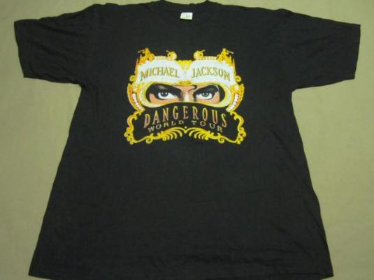 MICHAEL JACKSON KING OF POP ROCK DANCE DANGEROUS WORLD TOUR