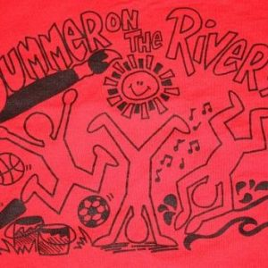 XL * Vintage 1994 SUMMER ON THE RIVER t-shirt