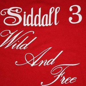 S / M * Vintage 80s SIDALL 3 Wild And Free t-shirt * RANDOM