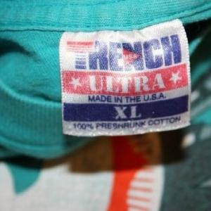 XL * Vintage 90s 1993 MIAMI DOLPHINS nfl football t-shirt