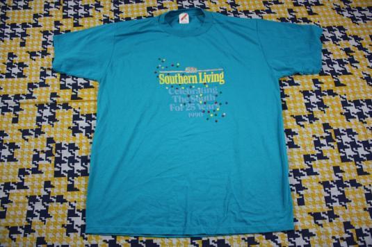 Vintage 1990 SOUTHERN LIVING t-shirt XL Celebrating