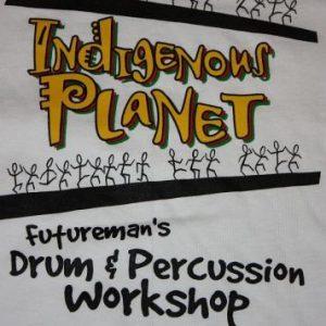 FUTUREMAN drum camp T-shirt ROY WOOTEN victor BELA FLECK
