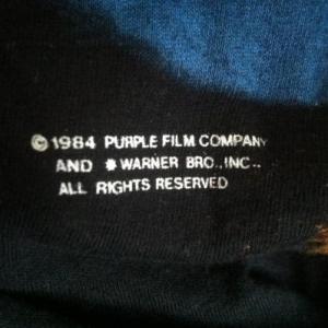 Rare 1984 Prince Purple Rain T Shirt long sleeve M/L