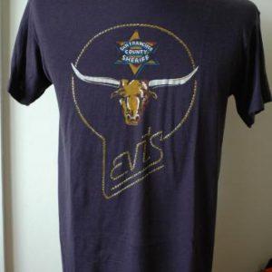 Rare 1970s Levi's San Francisco County Sheriff T shirt