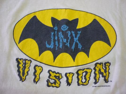 VTG 80s 1987 JINX VISION STREET WEAR T-SHIRT
