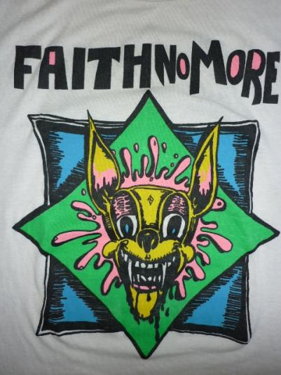 RARE VTG FAITH NO MORE PROMO TOUR CONCERT T-SHIRT