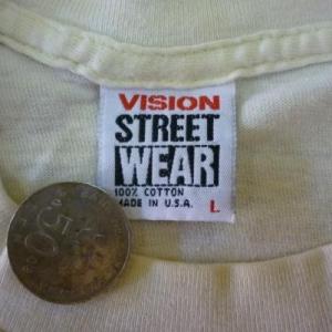 RARE VINTAGE 1987 JINX VISION STREET WEAR T-SHIRT