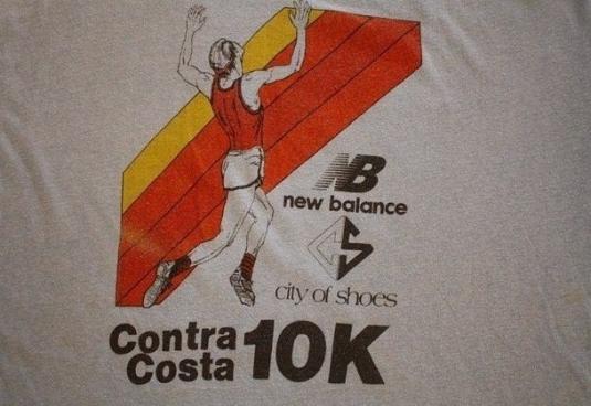70s Original Vtg New Balance Contra Costa 10k T-Shirt