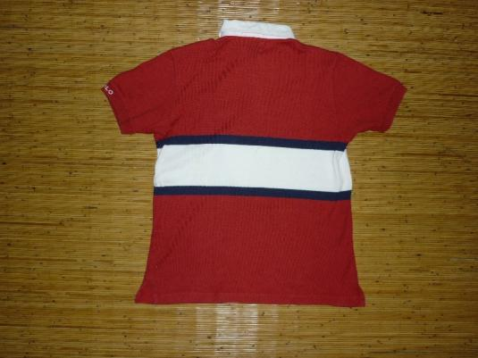 RARE VINTAGE POLO RALPH LAUREN P WING RUGBY SHIRT