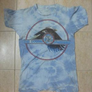 vtg doobie brothers tye dye t-shirt