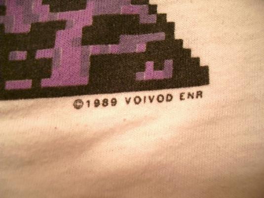 VoiVod 1989 NothingFace Vintage T-shirt